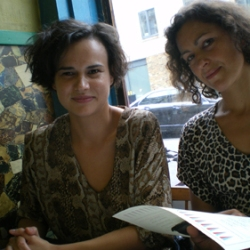 The curators: Mihaela Varzari & Dominique BB