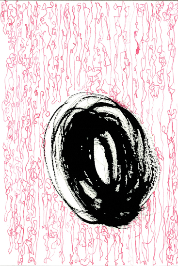 Weight   ink on paper