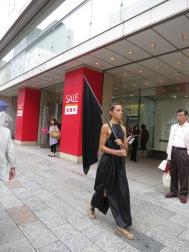 Black Walking Piece, Tokyo