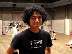 Yukio after the open class at Morishita Studio