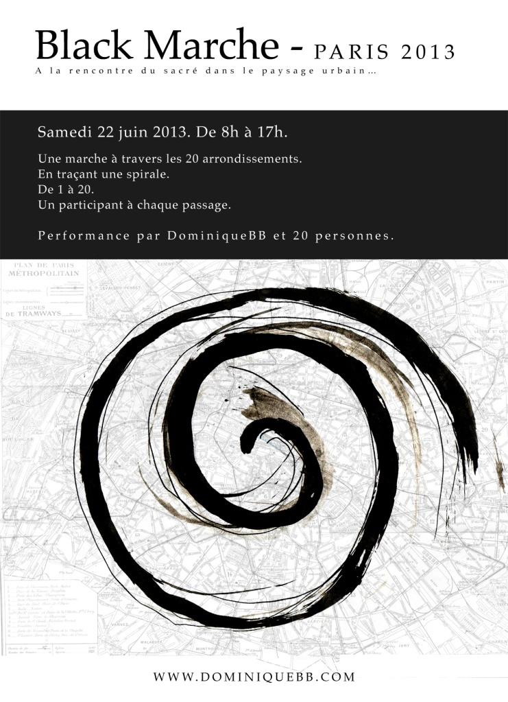 Black Marche in paris on 22 june 2013
