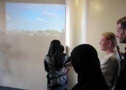 Film screening on 7th floor